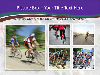 Cyclists PowerPoint Templates - Slide 19
