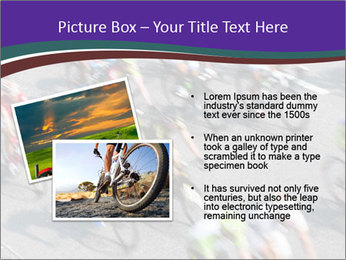 Cyclists PowerPoint Templates - Slide 20