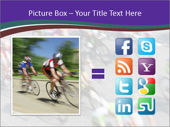 Cyclists PowerPoint Templates - Slide 21