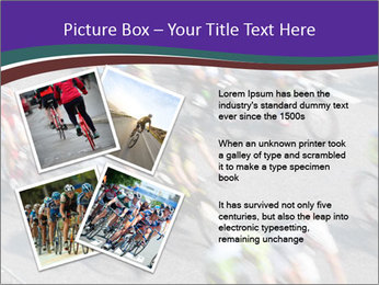 Cyclists PowerPoint Templates - Slide 23