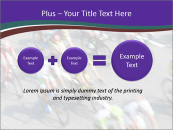 Cyclists PowerPoint Templates - Slide 75