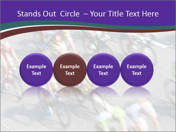 Cyclists PowerPoint Templates - Slide 76