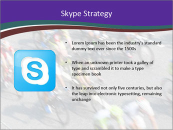 Cyclists PowerPoint Templates - Slide 8