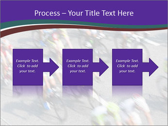 Cyclists PowerPoint Templates - Slide 88