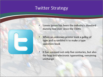 Cyclists PowerPoint Templates - Slide 9