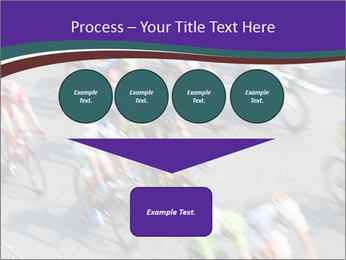 Cyclists PowerPoint Templates - Slide 93