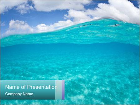 Crystal clear sea PowerPoint Templates
