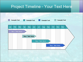 Crystal clear sea PowerPoint Template - Slide 25