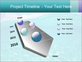 Crystal clear sea PowerPoint Template - Slide 26