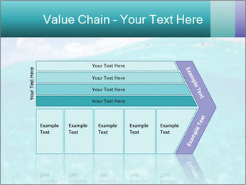 Crystal clear sea PowerPoint Template - Slide 27