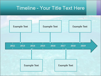 Crystal clear sea PowerPoint Template - Slide 28