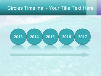 Crystal clear sea PowerPoint Template - Slide 29
