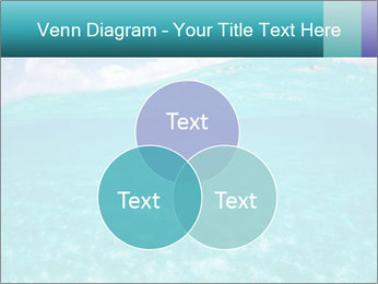 Crystal clear sea PowerPoint Template - Slide 33