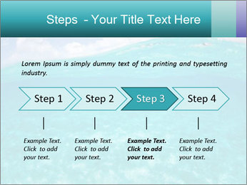 Crystal clear sea PowerPoint Template - Slide 4