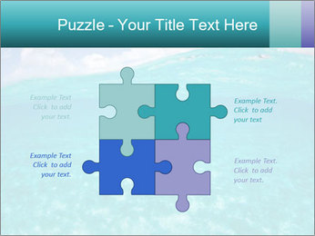 Crystal clear sea PowerPoint Template - Slide 43