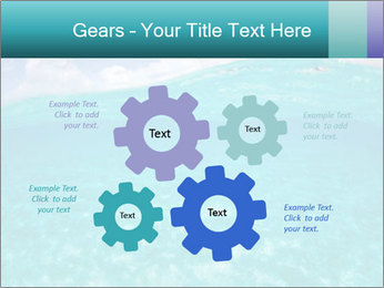 Crystal clear sea PowerPoint Template - Slide 47