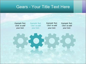Crystal clear sea PowerPoint Template - Slide 48