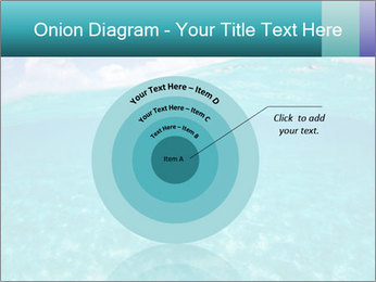 Crystal clear sea PowerPoint Template - Slide 61