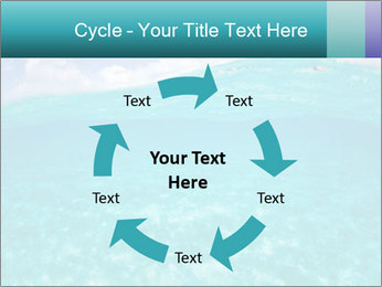 Crystal clear sea PowerPoint Template - Slide 62