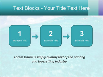 Crystal clear sea PowerPoint Template - Slide 71