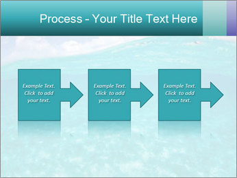 Crystal clear sea PowerPoint Template - Slide 88