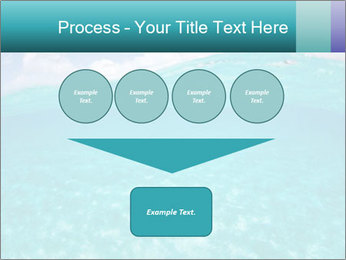 Crystal clear sea PowerPoint Template - Slide 93