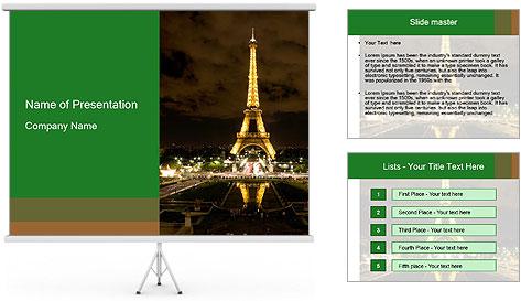 Eiffel Tower PowerPoint Template
