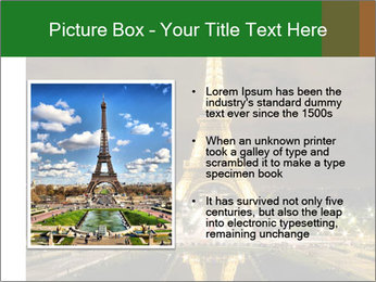 Eiffel Tower PowerPoint Template - Slide 13