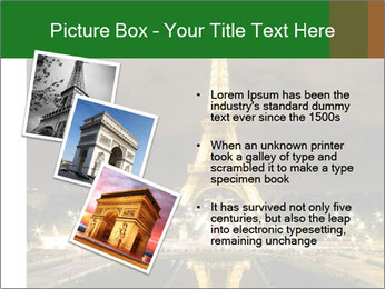 Eiffel Tower PowerPoint Template - Slide 17