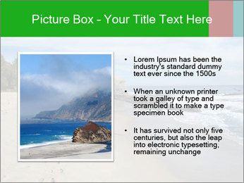 Ocean beach PowerPoint Template - Slide 13