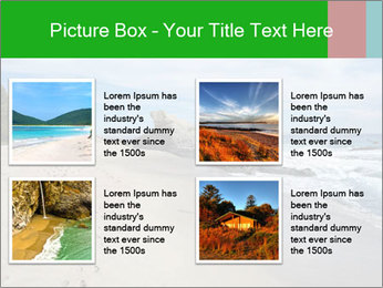 Ocean beach PowerPoint Template - Slide 14