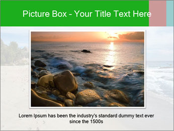 Ocean beach PowerPoint Template - Slide 16