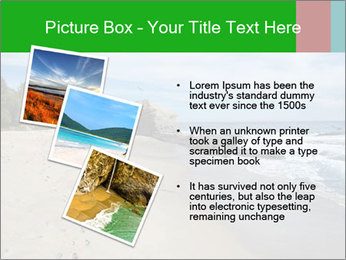 Ocean beach PowerPoint Template - Slide 17