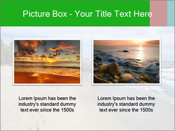 Ocean beach PowerPoint Template - Slide 18