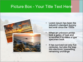Ocean beach PowerPoint Template - Slide 20