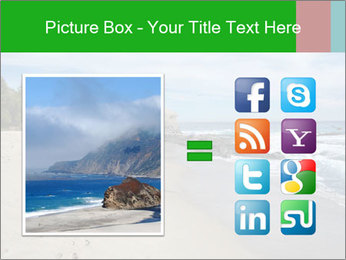 Ocean beach PowerPoint Template - Slide 21