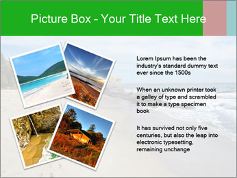 Ocean beach PowerPoint Template - Slide 23