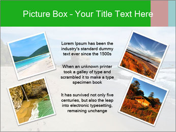 Ocean beach PowerPoint Template - Slide 24