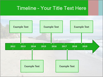 Ocean beach PowerPoint Template - Slide 28