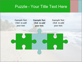 Ocean beach PowerPoint Template - Slide 42