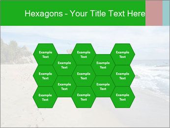Ocean beach PowerPoint Template - Slide 44