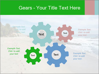 Ocean beach PowerPoint Template - Slide 47