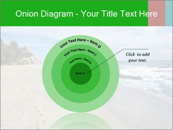 Ocean beach PowerPoint Template - Slide 61