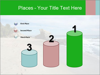 Ocean beach PowerPoint Template - Slide 65