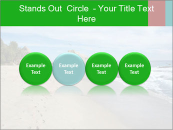 Ocean beach PowerPoint Template - Slide 76