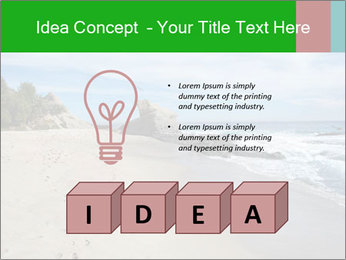 Ocean beach PowerPoint Template - Slide 80