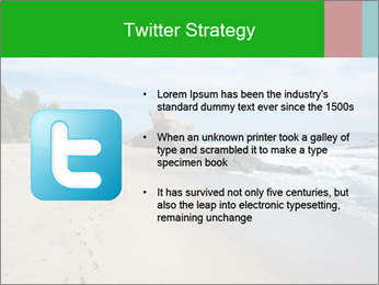 Ocean beach PowerPoint Template - Slide 9