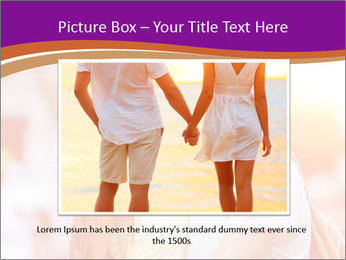 Couple in love in the street PowerPoint Template - Slide 16