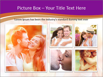 Couple in love in the street PowerPoint Template - Slide 19