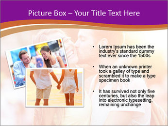 Couple in love in the street PowerPoint Template - Slide 20